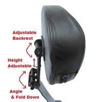 Fully Adjustable Driver's Backrest - '05+ Suzuki Boulevard C50 Blvd C50 06 07 08