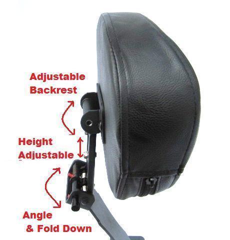 04 Fully Adjustable Driver/'s Backrest Honda Shadow Aero VT750