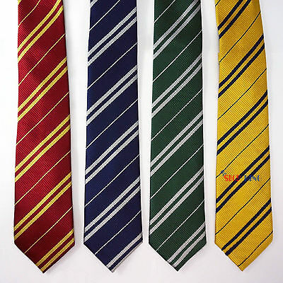 Harry Potter Tie Gryffindor/Hufflepuff/Slytherin Costume Party Accessory Necktie