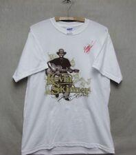 Z7668 Men's Signed Kevin Skinner Concert T-Shirt-Medium