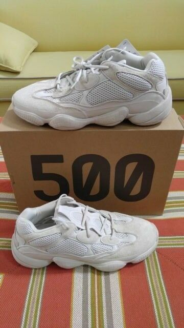 100% Authentic Adidas YEEZY 500 Blush Size 13 IN HAND READY TO SHIP WORLDWIDE