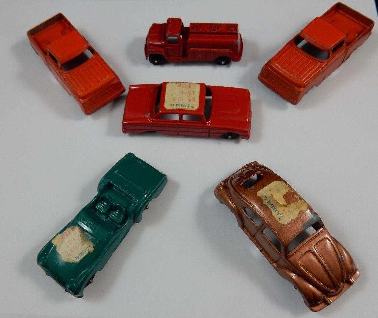Tootsietoy Diecast véhicules  Beetle, FORD camions,  Triumph, camion de pompiers, Berline  meilleurs prix