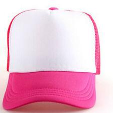 Strapback Hats Unisex Snapback Baseball Cap Mesh Casquette Trucker Visor Hats