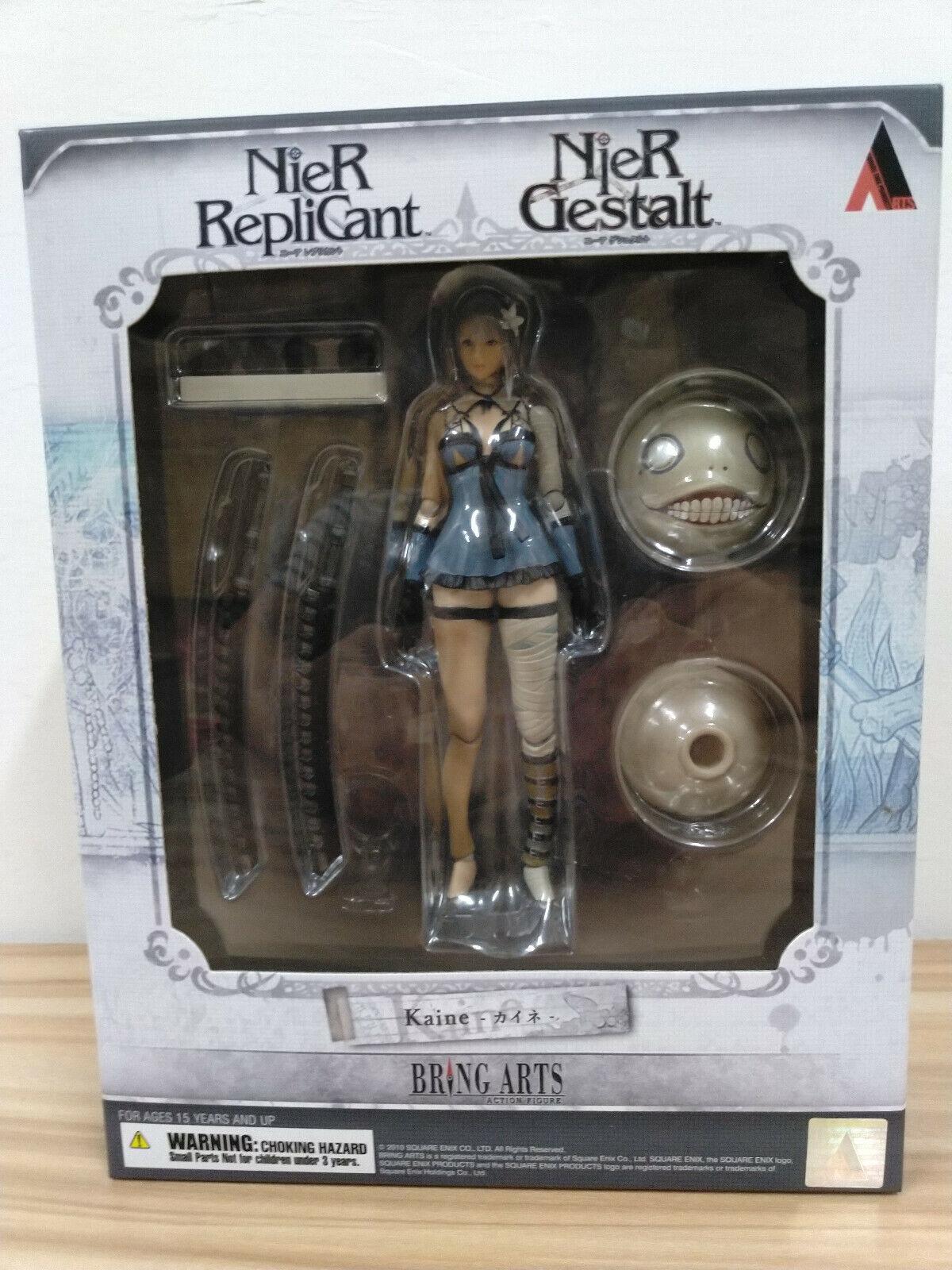 Official Square Enix NieR RepliCant Gestalt  Kaine Action Figure  Bring Arts