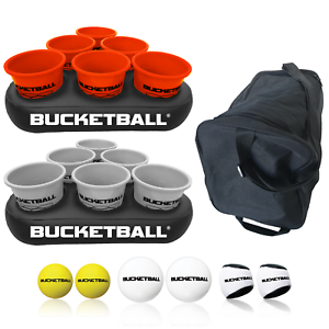 Team Color Edition Orange//Silver Details about  /BucketBall Party Pack