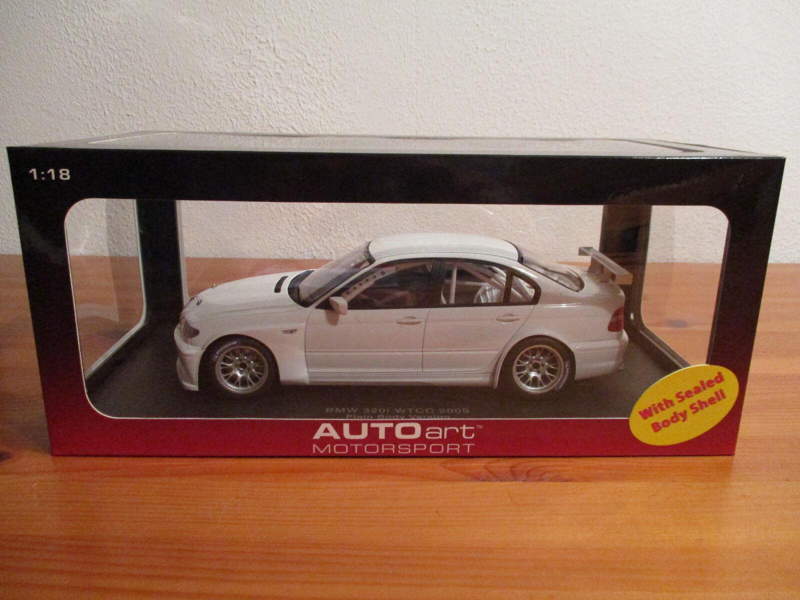 ( GO ) 1 18 AUTOart BMW 320i WTCC 2005 NEU OVP