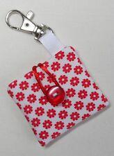 Fatto a mano iPod Shuffle 4th Generazione Custodia/Coperchio/Astuccio. tessuto di cotone floreale.