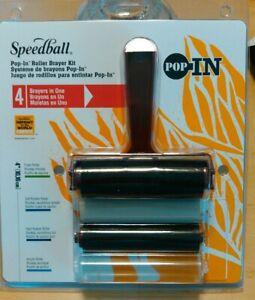 Speedball Art Products SB41233 4-Inch Pop-in Foam Brayer