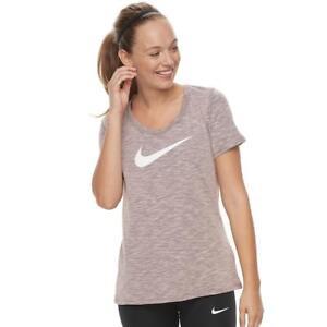370f0aa9cc9 Nike Women s Dry Scoop Neck Trainning T-Shirt 894663-647 Storm Pink ...