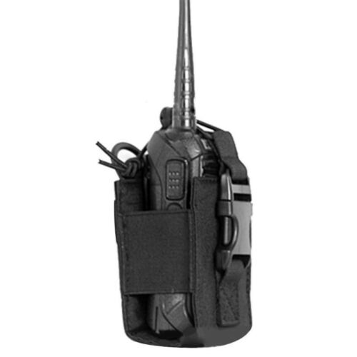CQC Military Tactical Radio Pouch Holster Molle Walkie Talkie Holder Mag Bag