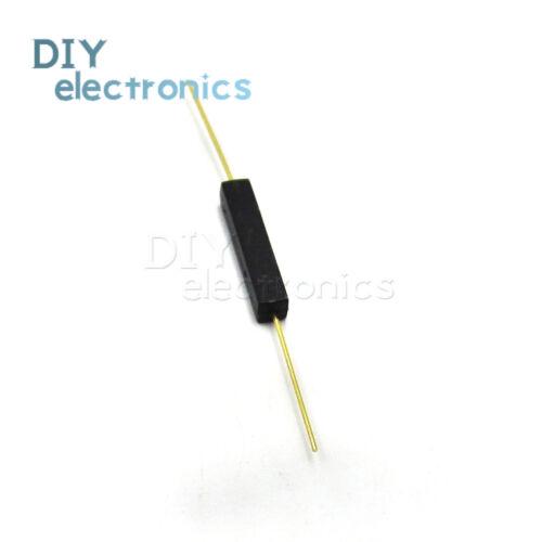 5pcs 2*14mm normalement ouvert Reed switch GPS-14A Interrupteur magnétique vibrationdi