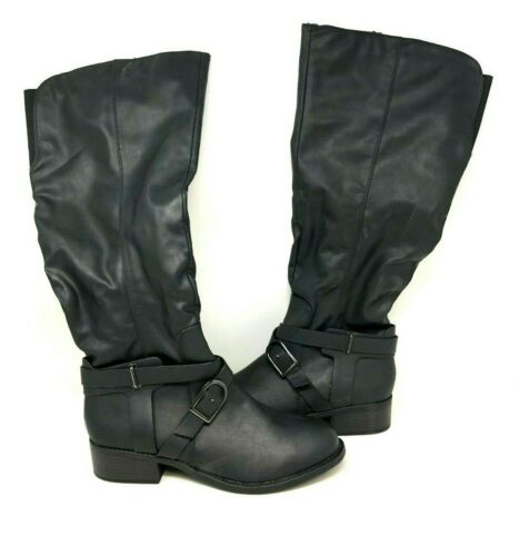 NEW APT.9 Women/'s Meridian Knee High Casual Boots Black #202667 91FG by