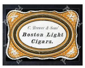 Historic-Boston-Light-Cigars-Ca-1870-Advertising-Postcard