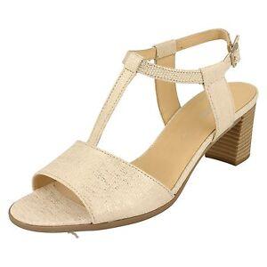 Gabor Vanille 45 890 Ladies Sandals Glitter Buckle Fastening pxBwpO