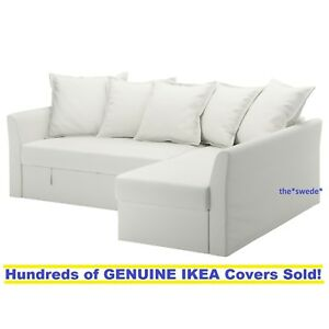 Superb Details About Ikea Holmsund Corner Sofa Bed Sectional Cover Slipcover Ransta White New In Box Pabps2019 Chair Design Images Pabps2019Com
