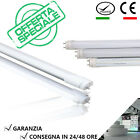 NEON TUBO LED SMD 60-90-120-150 CM 6500K LUCE FREDDA TRASPARENTE / OPACO T8