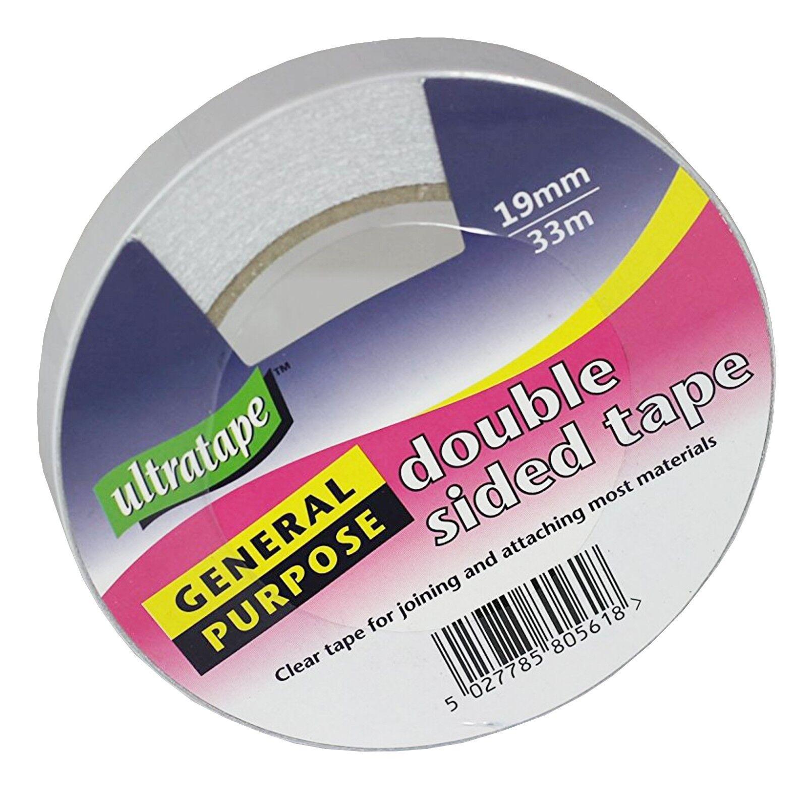 Ultratape 50mm x 33M General Purpose Double Sided Tape