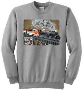 Southern Pacific 4-10-2 #5021 Authentic Railroad Sweatshirt 115