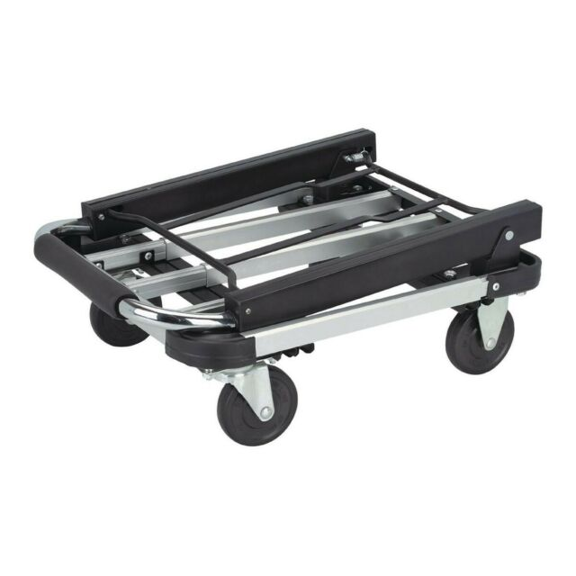 16 In X 28 In Folding Platform Hand Truck Mover Dolly 330 Lb Capacity Light For Sale Online Ebay