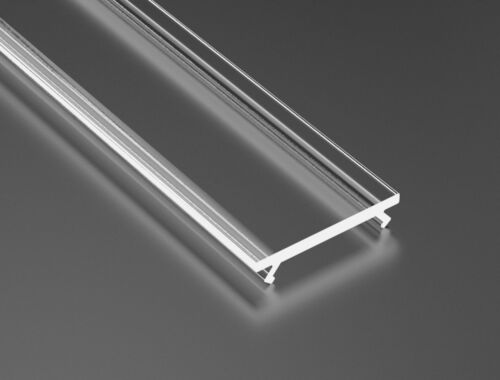 1M LED Leiste Aluminium Profil PD-G 17x18mm Aluprofil Schiene LED Streifen Strip
