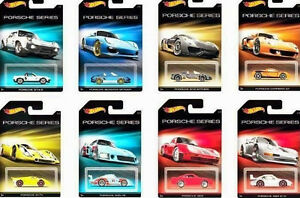 Hot Wheels PORSCHE SERIES 2015 COMPLETE SET LIMITED EDITION SOLD OUT!! XHTF!!