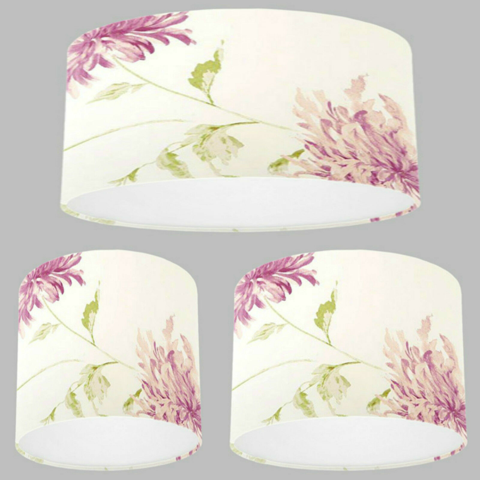 New Handmade abat-jour avec Laura Ashley Ashley Ashley Josiane Berry Rose Papier Peint abat-jour | Convivial  e8532c