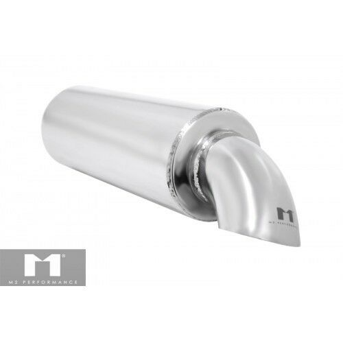 "Manzo Performance Universal Type Muffler Turndown Dropdown Style Tip 2/"" Racing"