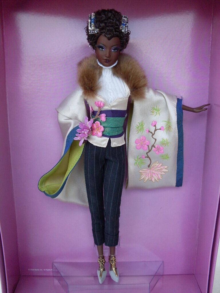 Barbie byron lars ayako jones passport collection collector bambola bambola bambola bc mattel N6614 1f36bb