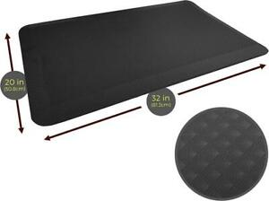 MotionGrey Cushioned Standing Desk Mat -Anti Fatigue Mat with Supportive Thick Foam and Diamond Grip Pattern Surface Canada Preview