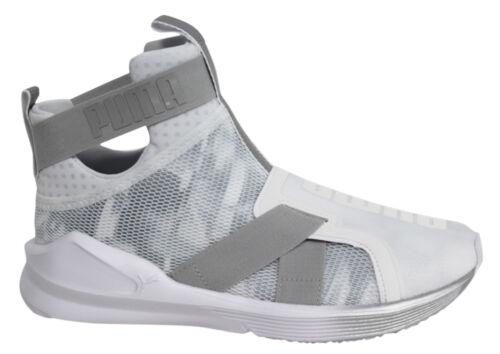 PUMA Fierce Strap Swan Women Fitness Shoes White UK 4  e7e5a4051