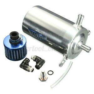 Universel-0-5L-Aluminium-Recuperateur-Vapeur-D-039-huile-Filtre-a-Air-Reniflard-Auto