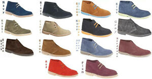 Mens-New-Suede-Desert-Boots-Sizes-6-7-8-9-10-11-12
