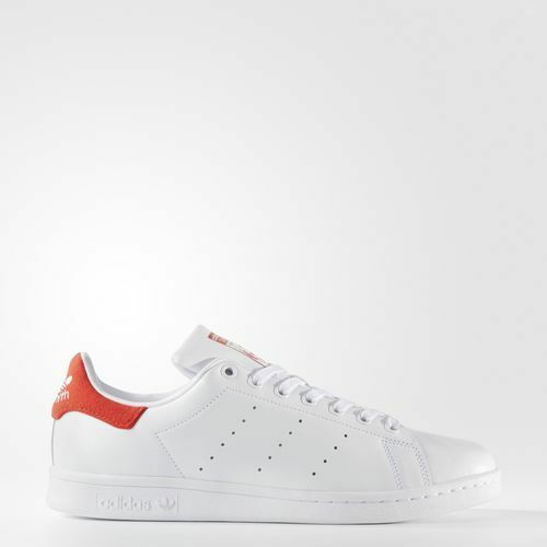 Adidas BZ0482 Uomo stan smith Running shoes white red Scarpe da Ginnastica