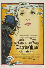 CHINATOWN Movie POSTER 27x40 Argentine Roman Polanski Jack Nicholson Faye