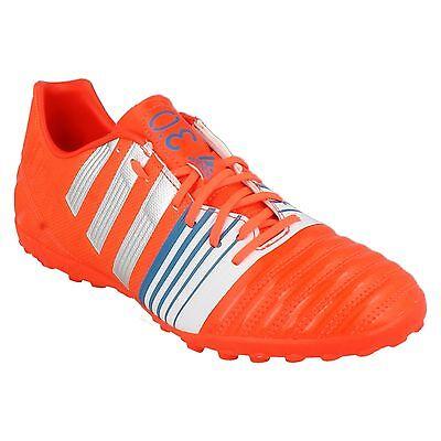 Bene Da Uomo Nitrocharge 3.0 Tf Arancione Lacci Calcio Soccer Sport Scarpe Da Ginnastica Adidas-mostra Il Titolo Originale