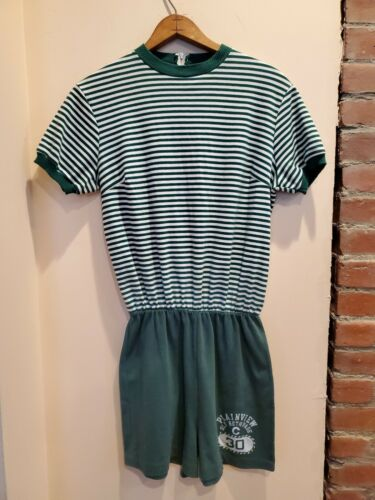 Vintage Lady Champion One Piece Phys. Ed Uniform S