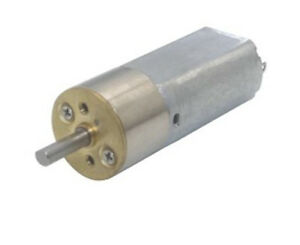 GA16-050 Mini DC12V 33-340rpm Gear Motor with Metal Gearbox For DIY Toy Car