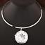 Bib-Pendant-Choker-Gold-Silver-Huge-Large-Clear-Gem-Crystal-Rhinestone-Necklace thumbnail 4