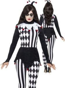 Hofnarr Halloween Kostuem Harlekin Clown Geladen Damen Bild Das Wird Erwachsene wCxqFAIqp