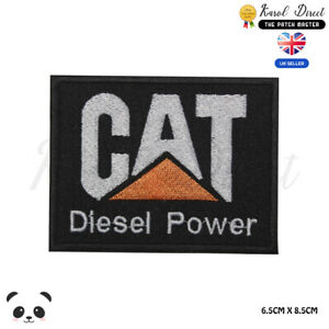 CAT-Power-Embroidered-Iron-On-Sew-On-Patch-Badge-For-Clothes-etc