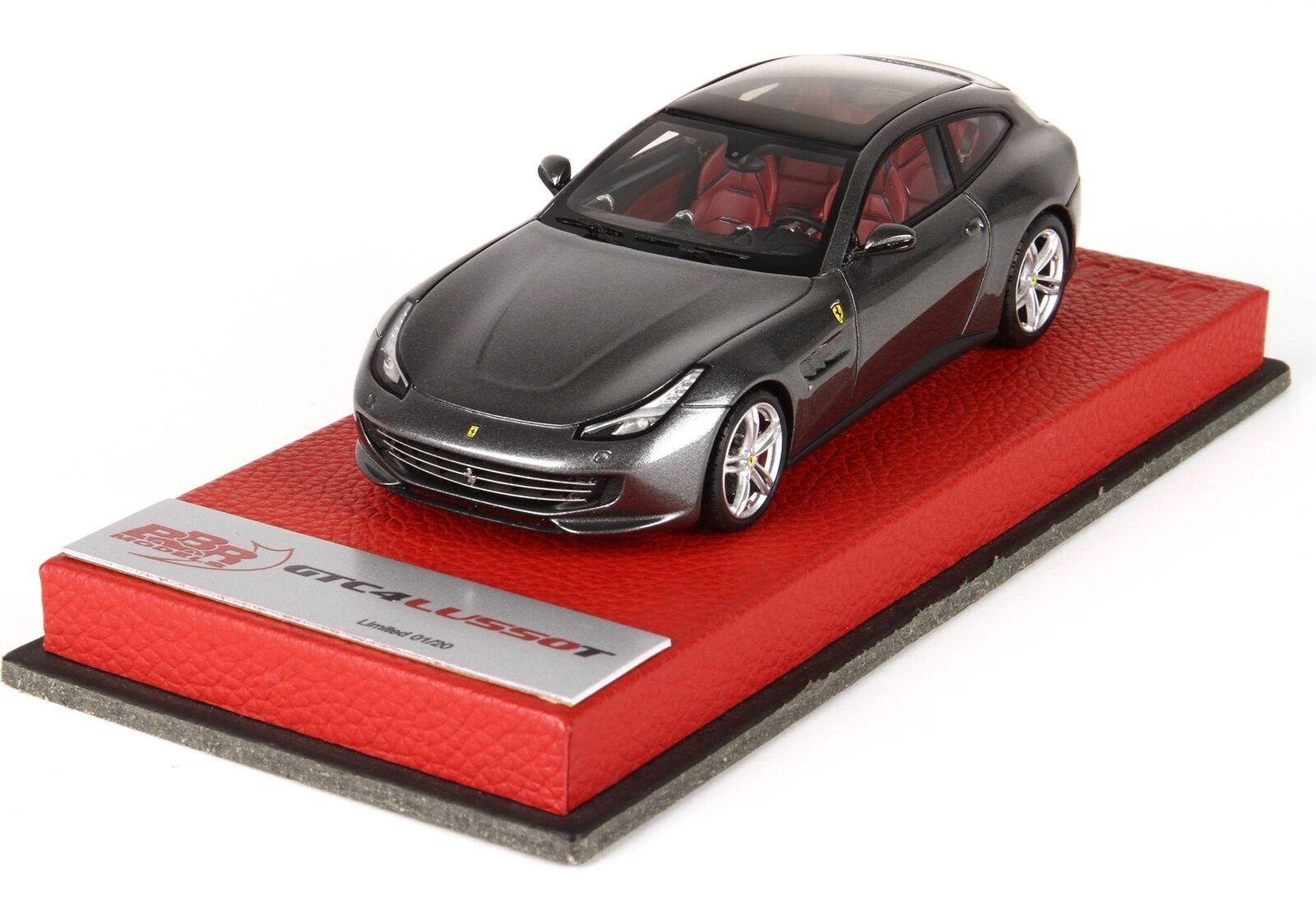 Ferrari gtc4 lusso t 2017 grau canna di hatten fucile grau traf bbr 1 43 bbrc191apre m