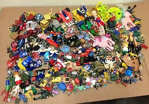 Huge-toy-lot-big-mix-random-good-parts-pieces-odds-ends-12lbs-various-age-figure