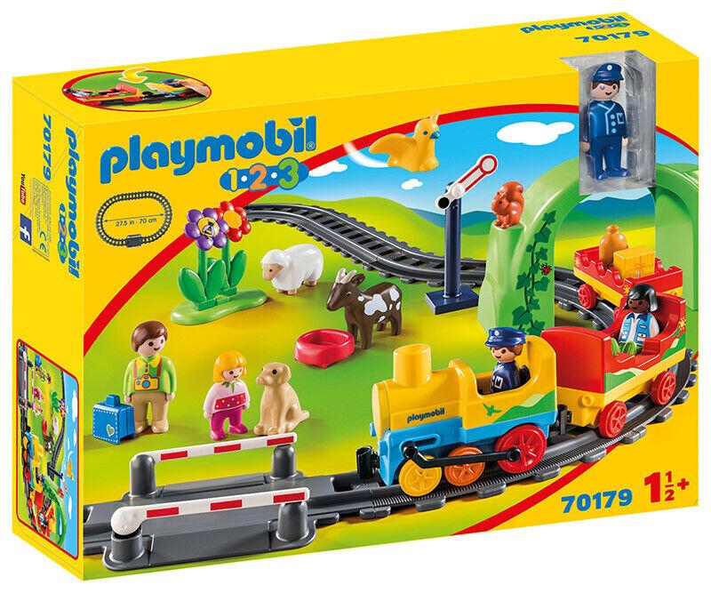 PLAYMOBIL  Il Mio Primo Trenino 1.2.3 70179 PLAYMOBIL  spedizione gratuita