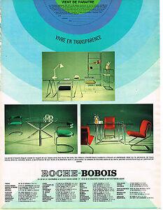 Publicite Advertising 1971 Roche Bobois Meubles Ebay