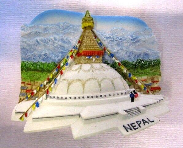 BOUDDHANATH STUPA NEPAL 3D MAGNET TRAVEL GIFT RESIN FRIDGE SOUVENIR CRAFT COOLER