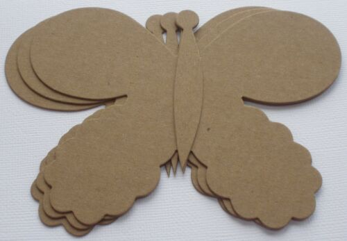 "Butterflies Bare Chipboard Die Cuts 5 1//4/""  x  3 7//8/"" {3}  WHiMSiCAL BUTTERFLY"