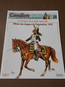 Fascicule-N-28-Del-Prado-Cavalier-Guerre-Officier-des-dragons-de-l-039-Imperatrice