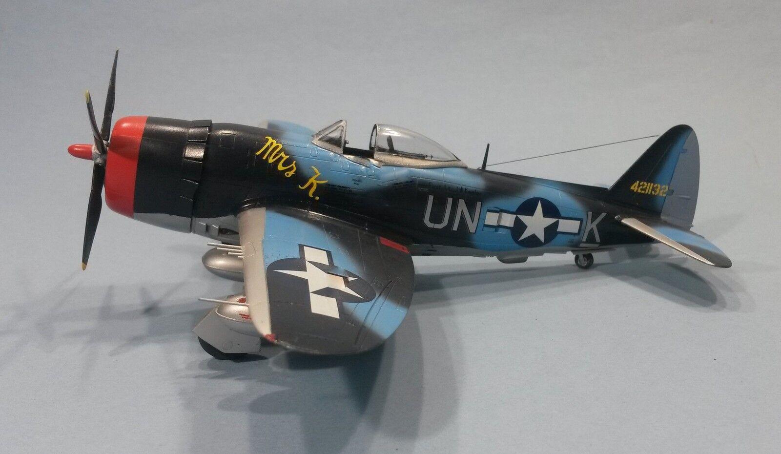 P-47M Thunderbolt 56th FG, 63rd FS,  MRS. K  UNK  fertig gebaut  | Wirtschaft