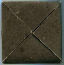 Medal EMPTY 1WW Bronze Memorial Plaque Card Envelope GENUINE