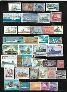 SHIPS-Nice-Lot-50-Stamps-DIFFERENT